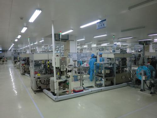 欧姆龙深圳厂房装修工程