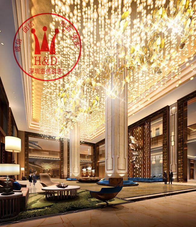 酒店舞台欧式装修效果图