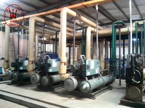 冷水机组安装工程