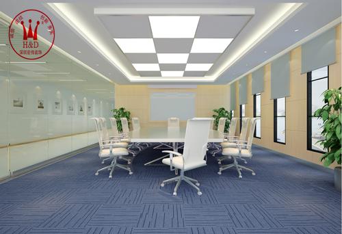 办公室装修会议室效果图