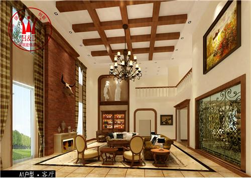 惠州罗浮山现代中式风格别墅装修设计