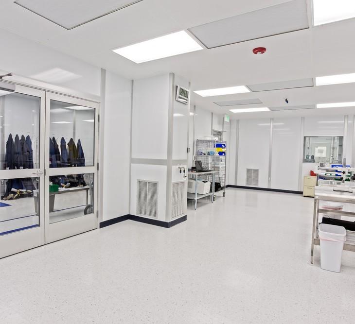 某微电子洁净厂房装修设计