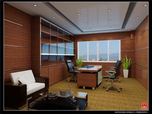 总经理室装修设计