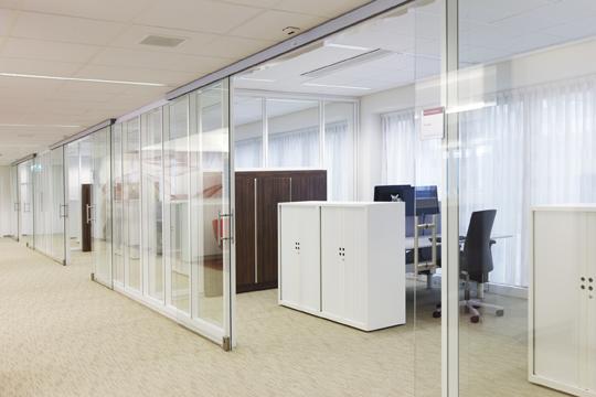 现代风格开放式办公室装修案例