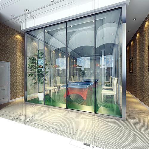 乒乓球室装修效果图