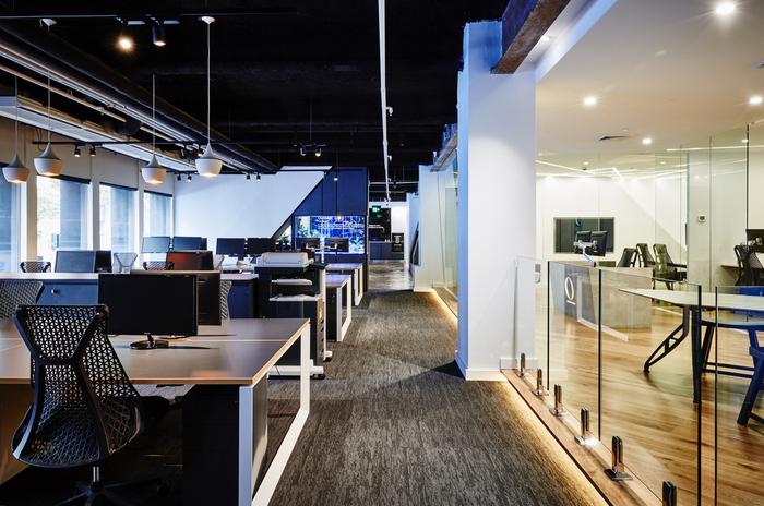 1500平方工业风格办公室装修效果图欣赏